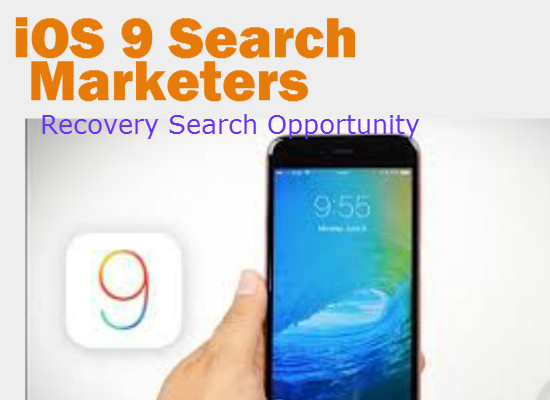 iOS 9 Search Marketers