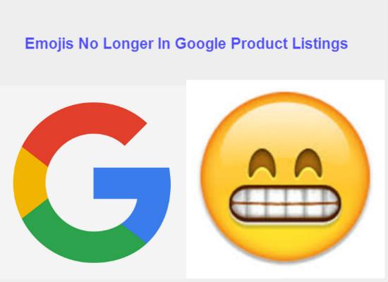 Emojis No Longer In Google PLA's