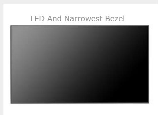 LED And Narrowest Bezel