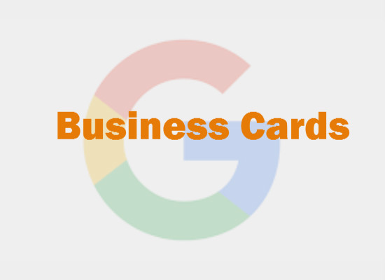 Google Now To Experiment With Business Cards