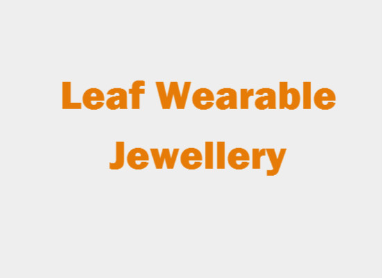 Leaf Wearable jewellery